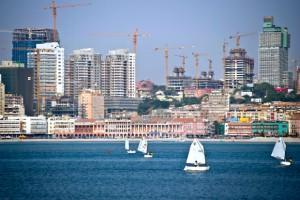 Luanda, der Hauptstadt der Republik Angola