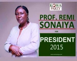eleicções Remi Sonaiya