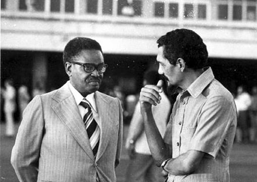 História política do nacionalista angolano Lúcio Lara.