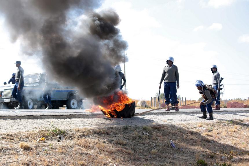 zimbabwe revolta
