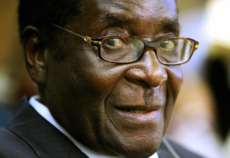 Zimbabwe's President Robert Mugabe SMILE
