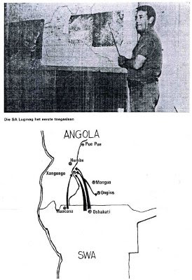 OperationProtea1981_SADF_Angola_SADFOfficerExplainingMapOperations