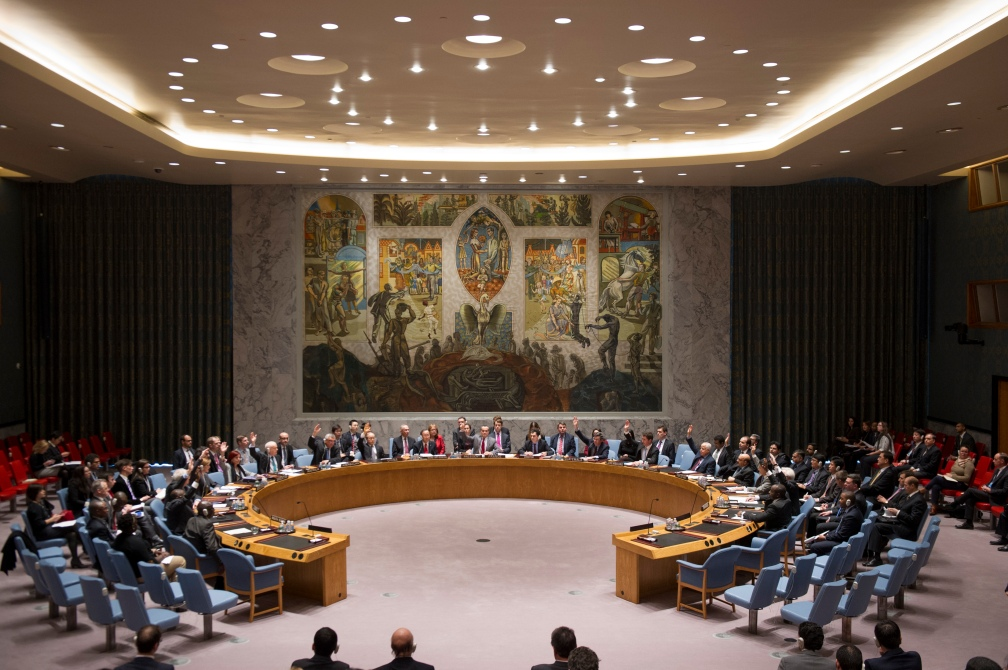 Security Council Meeting on on the Sudan and South Sudan.