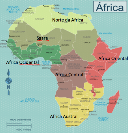 regioes-da-africa