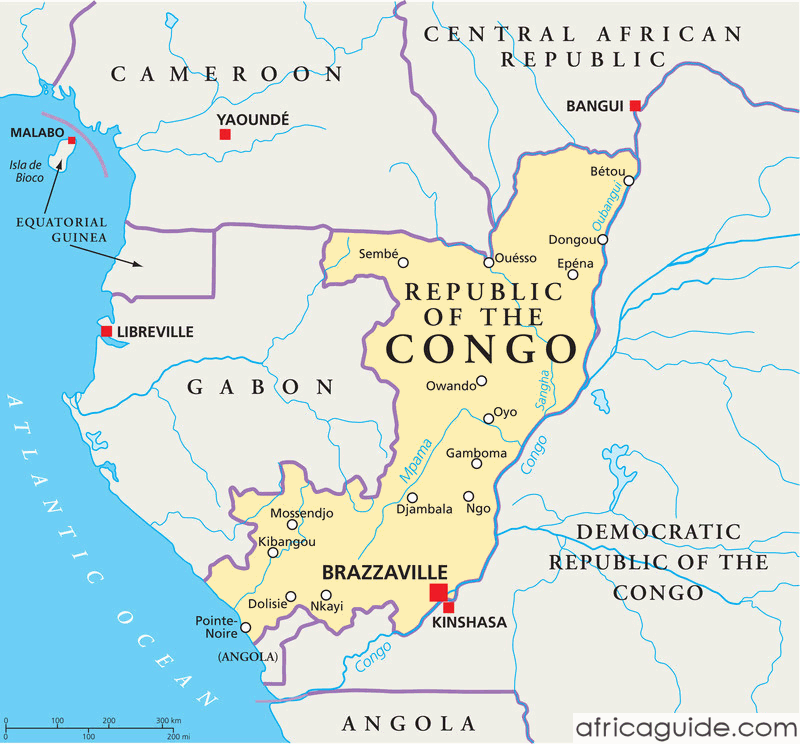 republic_of_congo_political_map