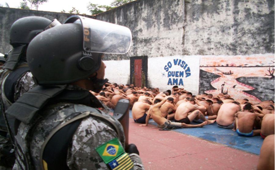 Presídio de Tabatinga abriga detentos de outros países, como Peru e Colômbia