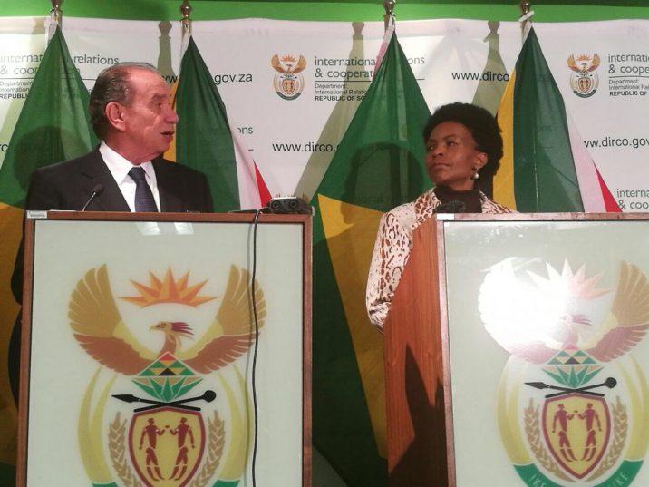 encontro do dois ministros das relações exteriores