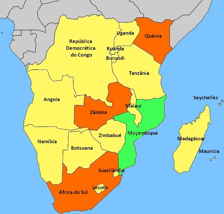 portuguese map of southern africa_mozambique