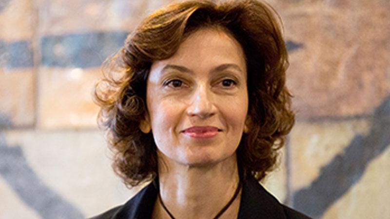 Audrey Azoulay, diretora-geral da UNESCO