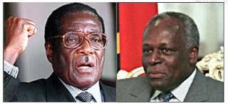 Mugabe e jos eduardo