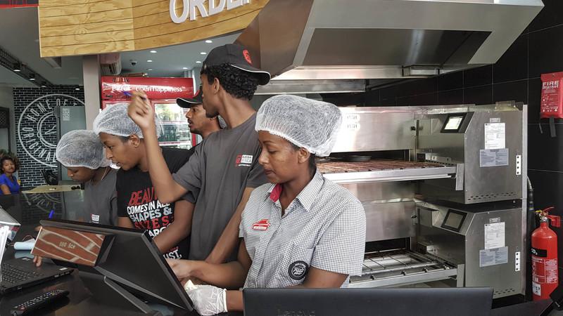 franquia de piza na etiópia