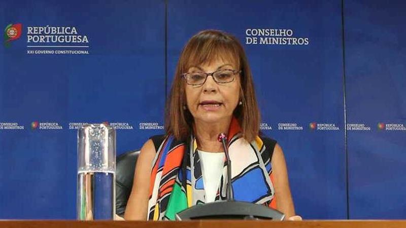 ministra portuguesa