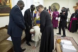 papa e o sudão do sul