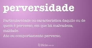 perversidade